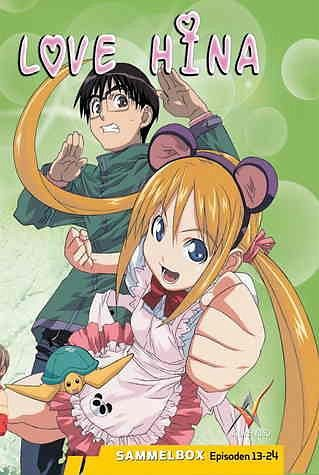 DVD »Love Hina DVD-Box Vol. 02 (3 DVDs)«
