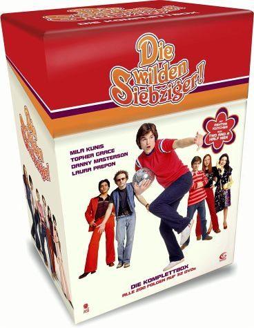 DVD »Die wilden Siebziger! - Die komplette Serie...«