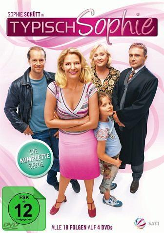 DVD »Typisch Sophie - Alle 18 Folgen (4 Discs)«