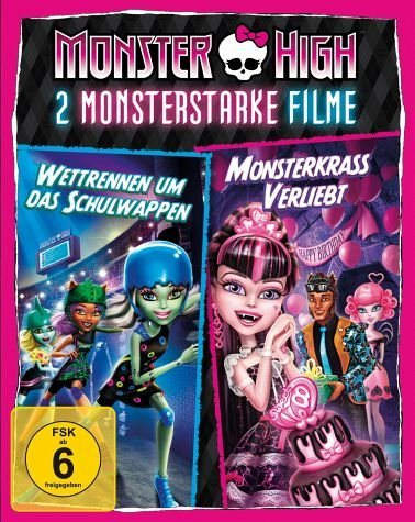 Blu-ray »Monster High - 2 monsterstarke Filme, 1 Blu-ray«