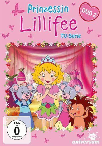 DVD »Prinzessin Lillifee - DVD 2«