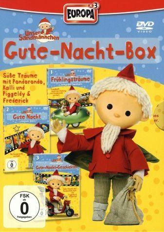 DVD »Unser Sandmännchen - Gute-Nacht-Box (3 Discs)«