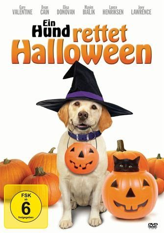 DVD »Ein Hund rettet Halloween«