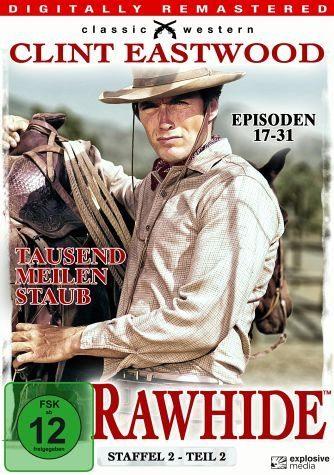 DVD »Rawhide - Tausend Meilen Staub, Staffel 2,...«