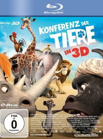 Blu-ray »Konferenz der Tiere (Blu-ray 3D)«