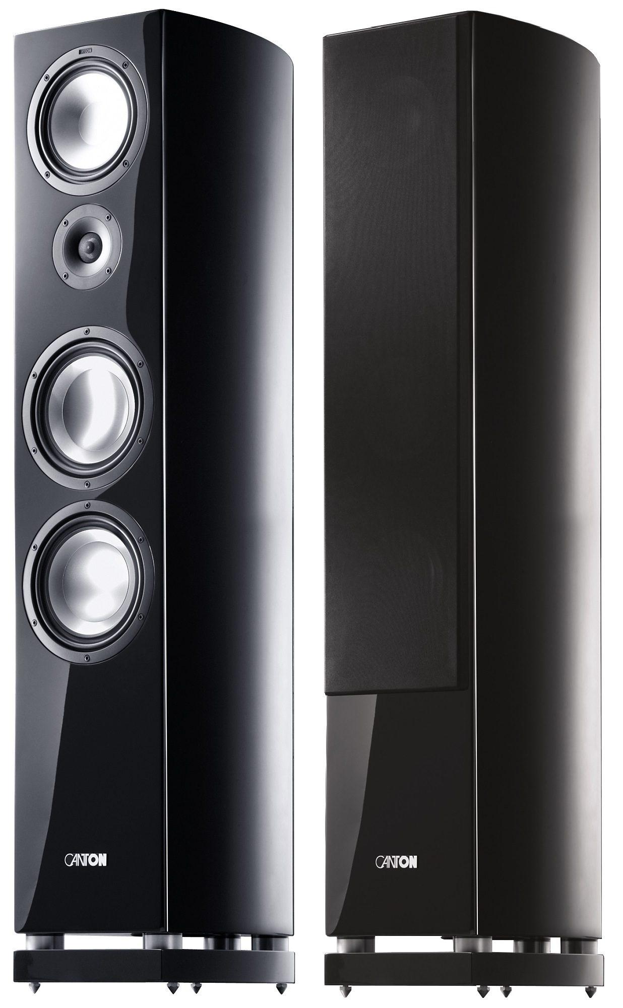 Canton Standlautsprecher »Vento 890 DC schwarz (Paar)«