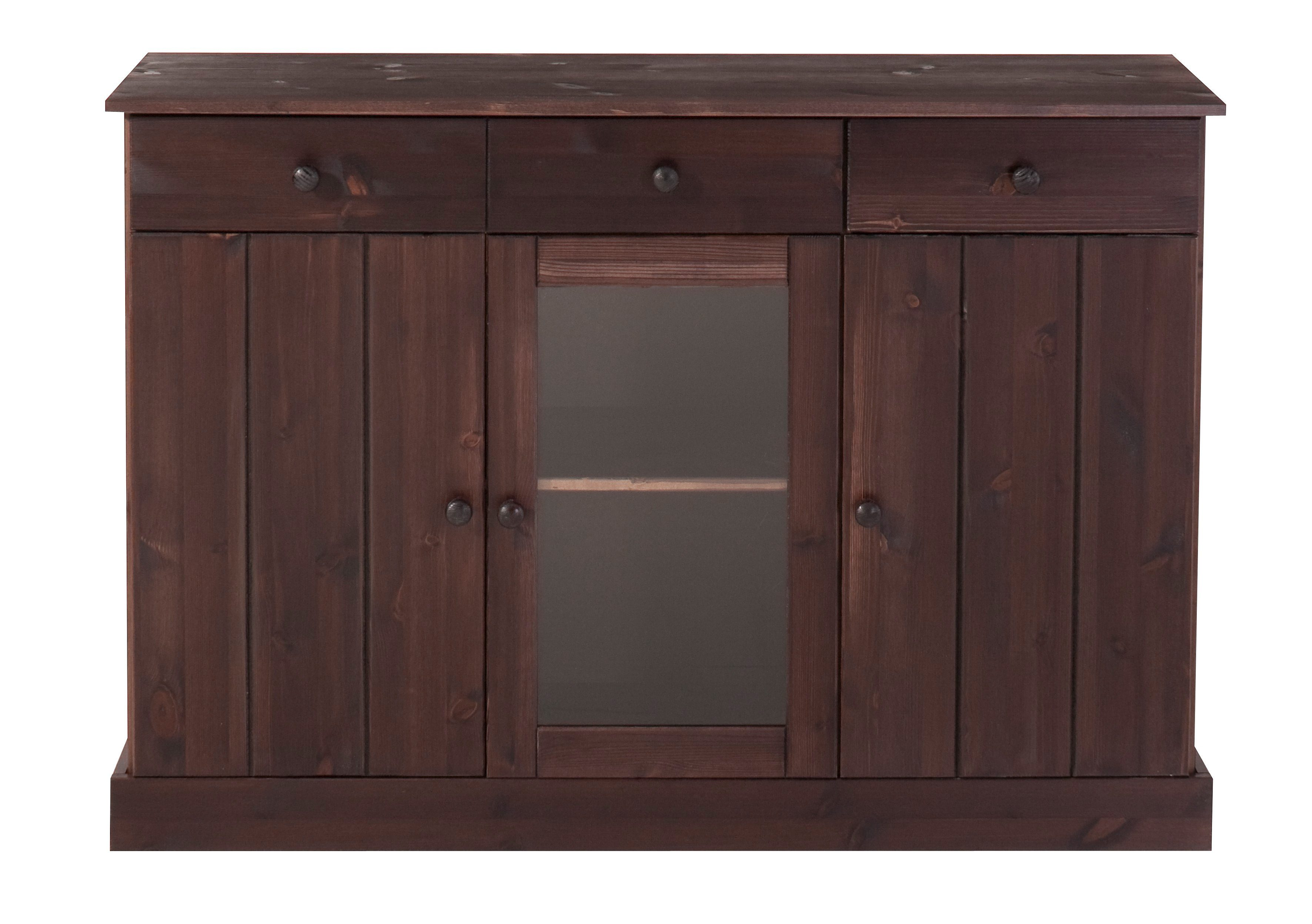 Sideboard, Home affaire, Breite 115 cm (3-trg.)