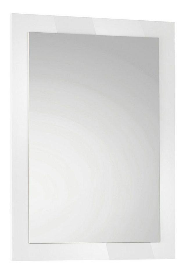 Spiegel »Parma« in weiß
