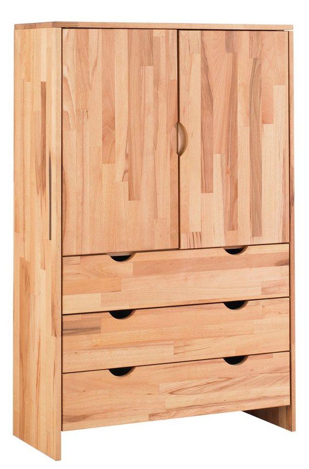 Garderobenschrank »Maximus« in kernbuche