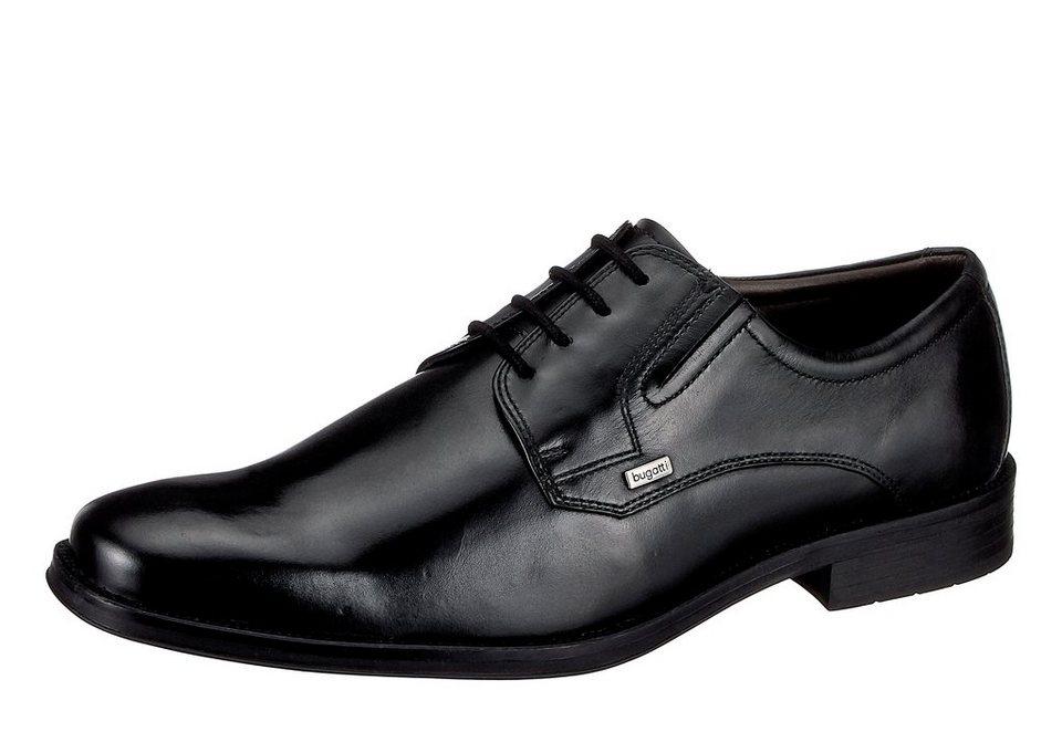 begehrteste Mode am besten einkaufen Gutscheincode Bugatti T55071, Herren Derby Schnürhalbschuhe, Schwarz (schwarz 100), 43 EU  (9 Herren UK)