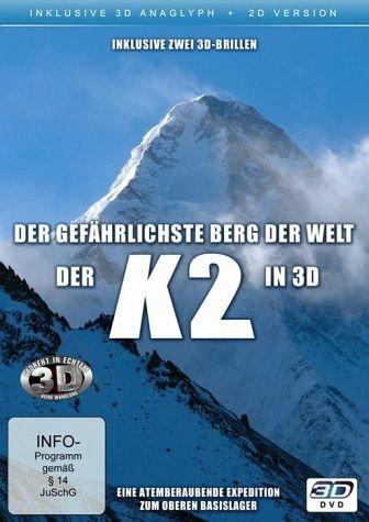 DVD »K2 - Der gefährlichste Berg der Welt (3D)«