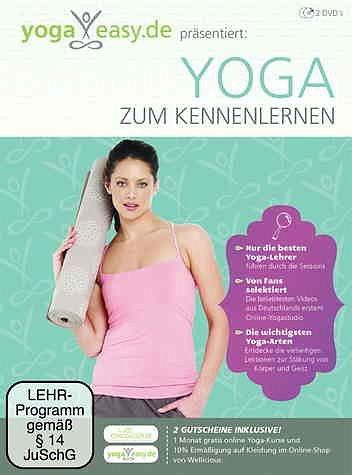 DVD »Yoga Easy - Yoga zum Kennenlernen (2 Discs)«
