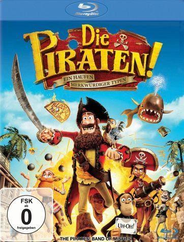 Blu-ray »Die Piraten! - Ein Haufen merkwürdiger Typen«