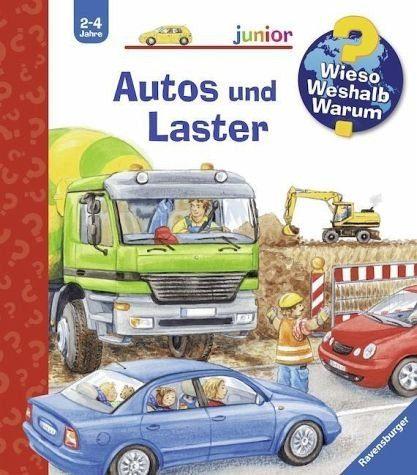 Buch mit Papp-Einband »Autos und Laster / Wieso? Weshalb? Warum?...«