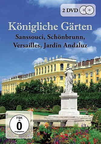 DVD »Königliche Gärten - Sanssouci / Schönbrunn /...«