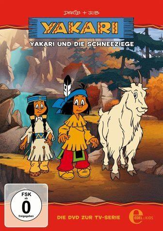 DVD »Yakari - Yakari und die Schneeziege«
