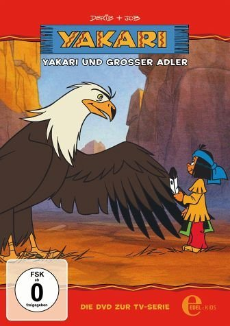 DVD »Yakari - Yakari und der große Adler«