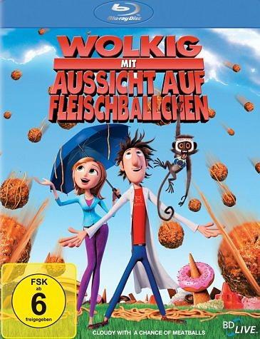 Blu-ray »Wolkig mit Aussicht auf Fleischbällchen«