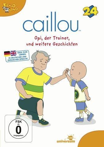 DVD »Caillou 24 - Opi, der Trainer und weitere...«