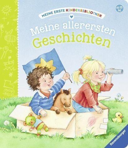 Buch mit Papp-Einband »Meine allerersten Geschichten«