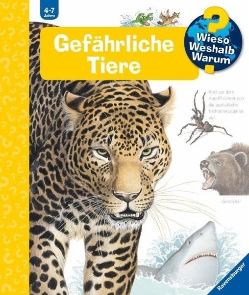 Gebundenes Buch »Gefährliche Tiere / Wieso? Weshalb? Warum? Bd.49«