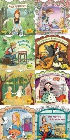 Broschiertes Buch »Pixi-Bundle 8er Serie 217: Märchenstunde mit Pixi«