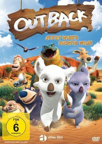 DVD »Outback - Jetzt wird's richtig wild!«