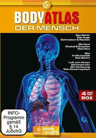DVD »Discovery Home & Health - Body Atlas (4 Discs)«