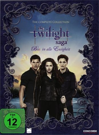 DVD »Twilight Saga Complete Collection, 11 DVDs«