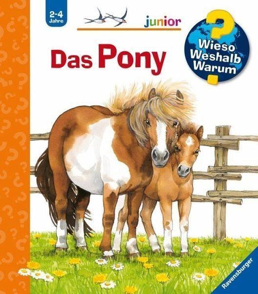 Buch mit Papp-Einband »Das Pony / Wieso? Weshalb? Warum? Junior Bd.20«
