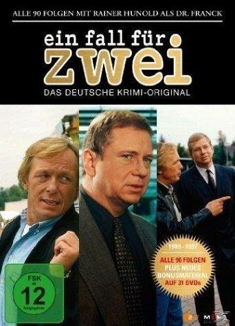 DVD »Ein Fall für Zwei - Rainer Hunold Box (31 Discs)«