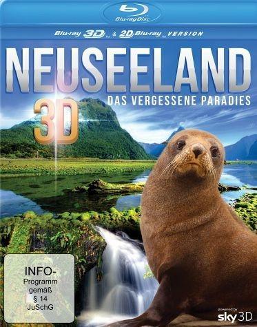 Blu-ray »Neuseeland - Das vergessene Paradies (Blu-ray 3D)«
