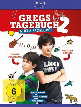 Blu-ray »Gregs Tagebuch 2 - Gibts Probleme?«