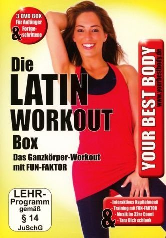 DVD »Your Best Body - Die Latin Work Out Box (3 Discs)«