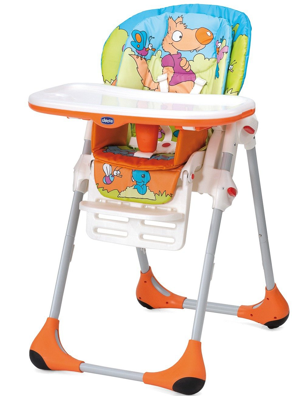 CHICCO Hochstuhl Polly 2 in 1, Wood Friends