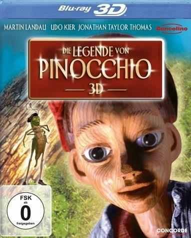 Blu-ray »Die Legende von Pinocchio (Blu-ray 3D)«