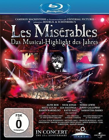Blu-ray »Les Misérables - In Concert (25th Anniversary...«