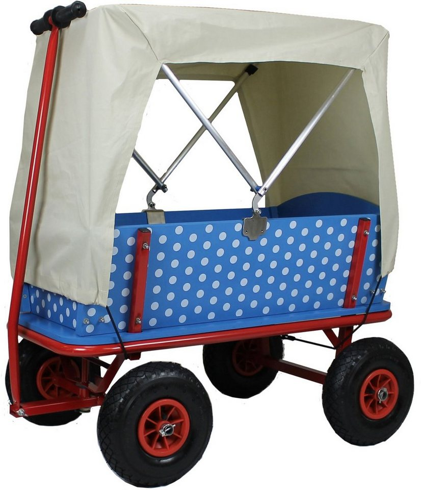 beachtrekker bollerwagen style blaubeere mit faltdeck online kaufen otto. Black Bedroom Furniture Sets. Home Design Ideas