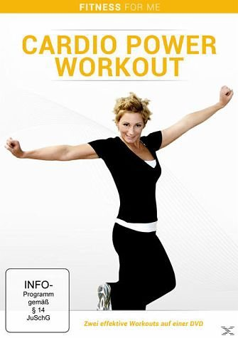DVD »Fitness for Me - Cardio Power Workout«