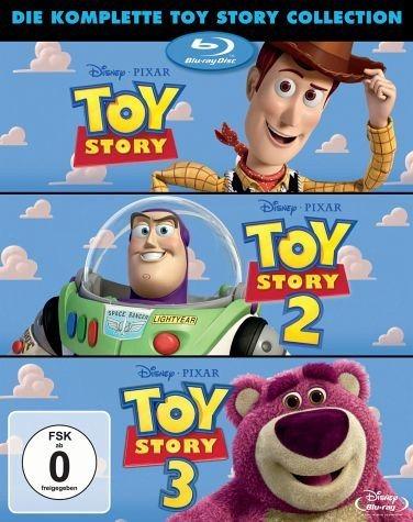 Blu-ray »Toy Story / Toy Story 2 / Toy Story 3 (3 Discs)«