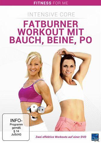 DVD »Fatburner Workout Mit Bauch, Beine, Po...«