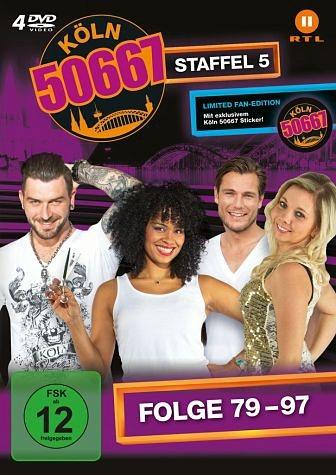 DVD »Köln 50667 - Staffel 5 (Folge 79-97) (Limited...«