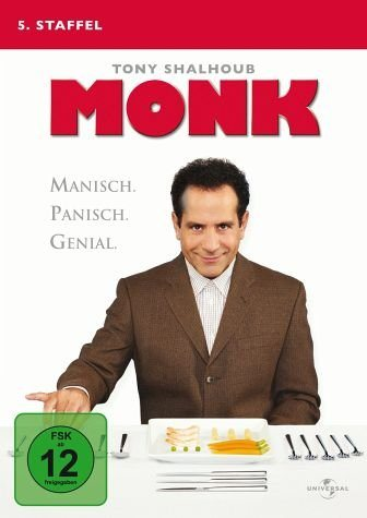 DVD »Monk - 5. Staffel (4 Discs)«