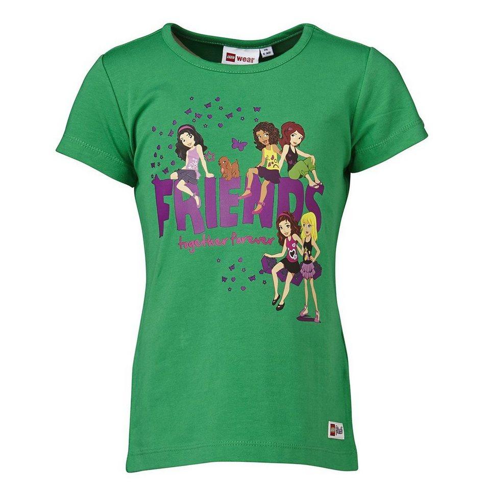 """LEGO Wear LEGO® Wear Friends T-Shirt Theodora """"Together"""" in grün"""