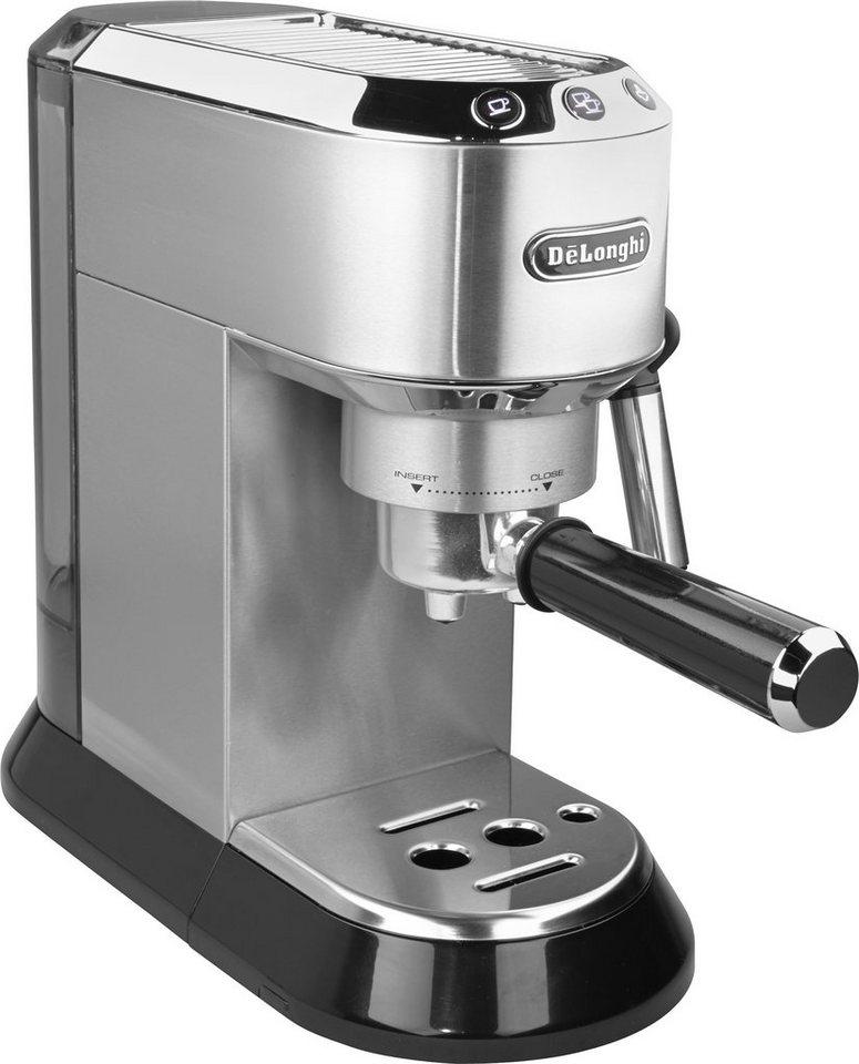 De'Longhi Espressomaschine - traditioneller Siebträger »EC 680.M«, 15 Bar Pumpendruck in silber