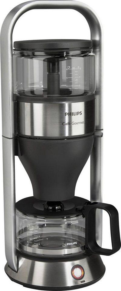 Philips Kaffeemaschine HD5412/00 New Café Gourmet Avance in edelstahl/schwarz