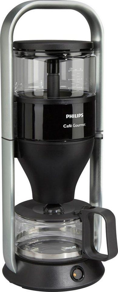 Philips Kaffeemaschine HD5407/60 New Café Gourmet in schwarz