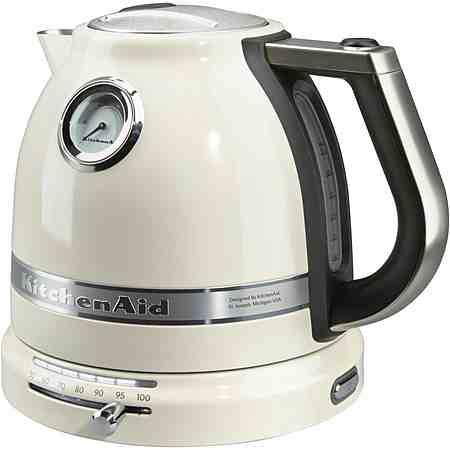 KitchenAid Wasserkocher Artisan 5KEK1522EAC, 1,5 Liter, 2400 Watt, creme