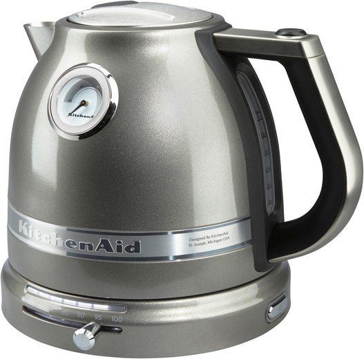 KitchenAid Wasserkocher 5KEK1522EMS, 1,5 l, 2400 W