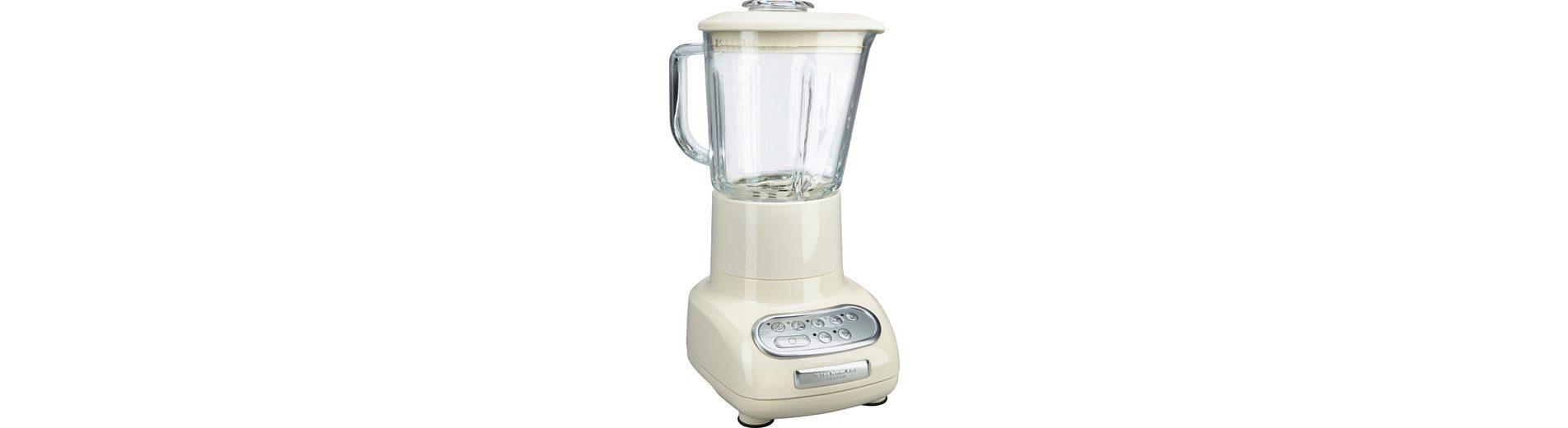 KitchenAid Artisan Standmixer 5KSB5553EAC, 550 Watt, 5 Stufen, Creme
